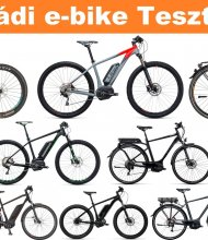 E-Bike test days in Visegrád